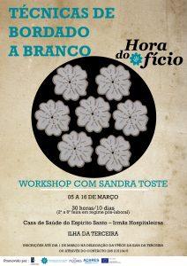 TECNICAS DE BORDADO A BRANCO - SANDRA TOSTE - hora do oficio