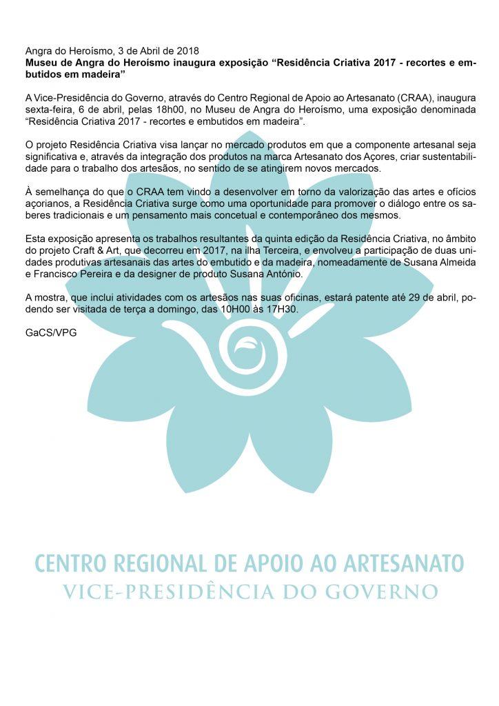 Museu de Angra do Heroismo inaugura exposicao Residencia Criativa 2017 recortes e embutidos em madeira PT