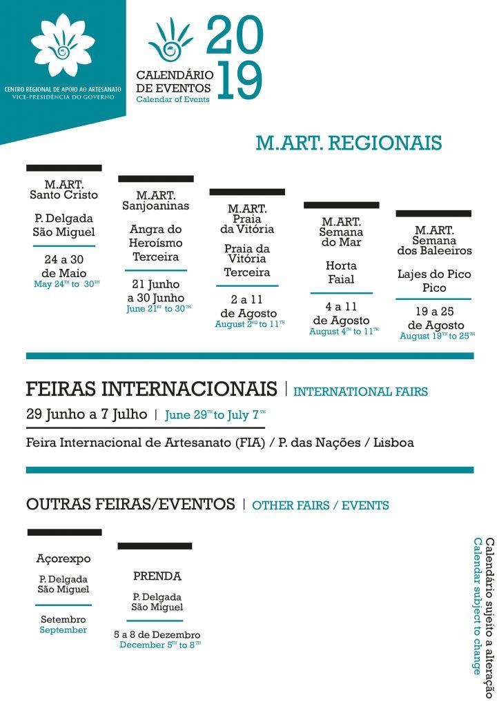 calendario eventos M.ART. REGIONAIS - 2019 copy