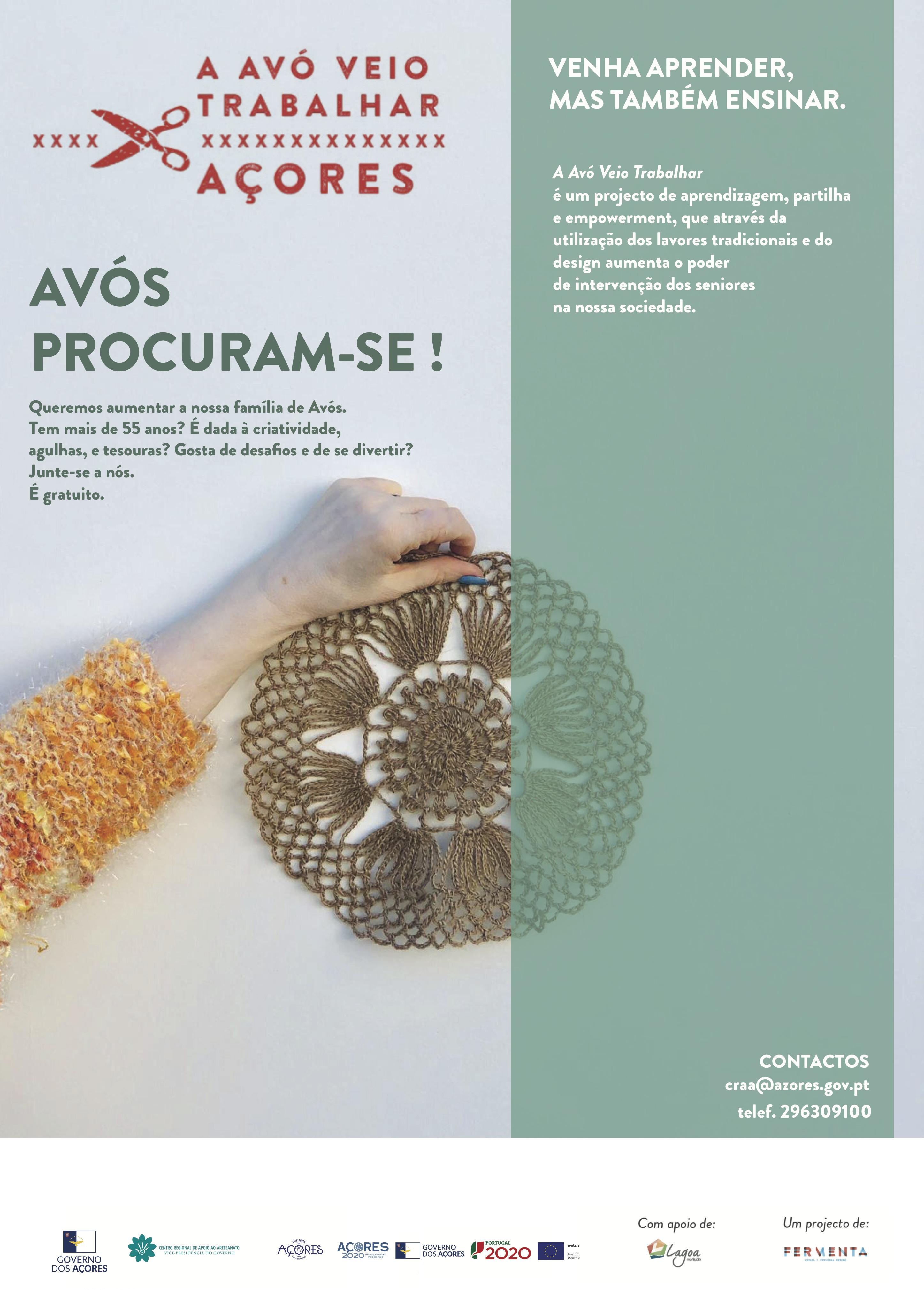 poster Procuram-se Avós nos Açores_final